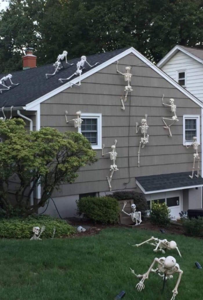 40 decorações de Halloween do ano de 2020 que são engraçadas e assustadoras 36