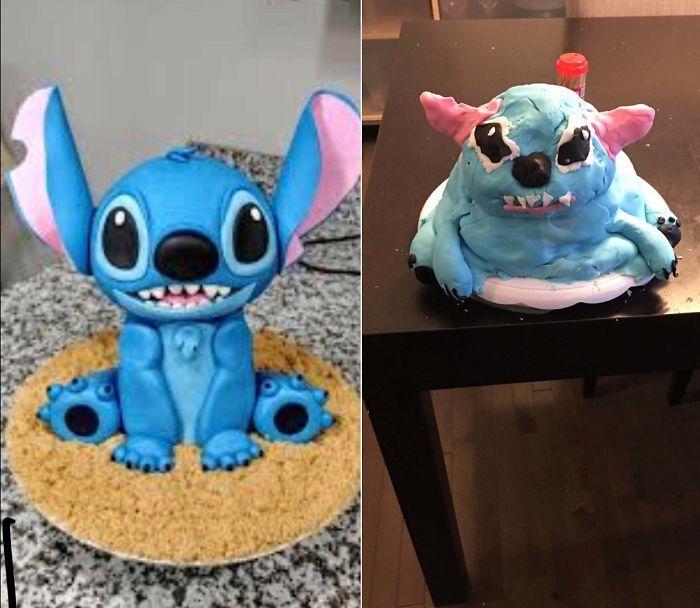 35 Expectativa vs Realidade na hora de fazer bolo 6