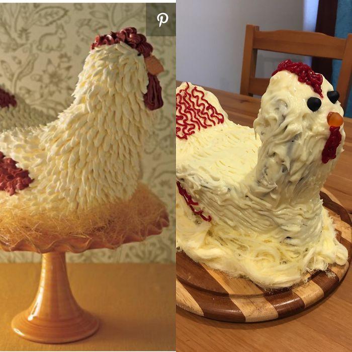 35 Expectativa vs Realidade na hora de fazer bolo 8