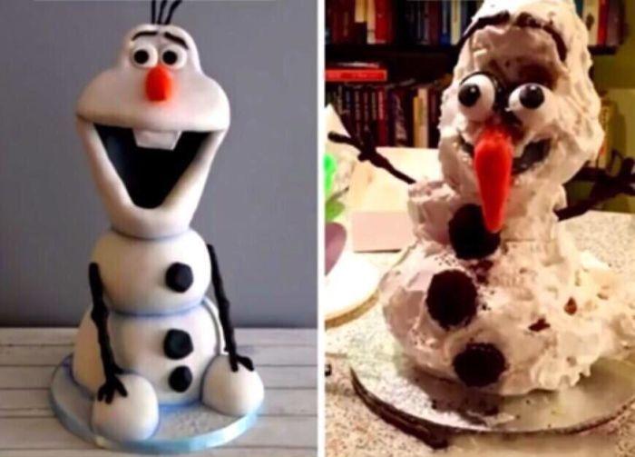 35 Expectativa vs Realidade na hora de fazer bolo 14