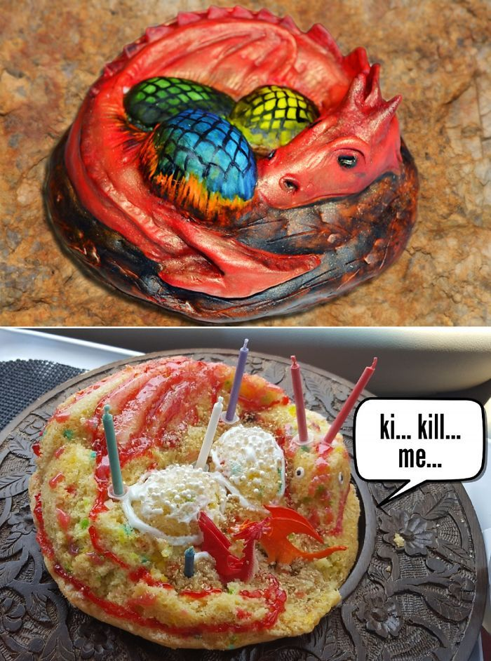 35 Expectativa vs Realidade na hora de fazer bolo 19