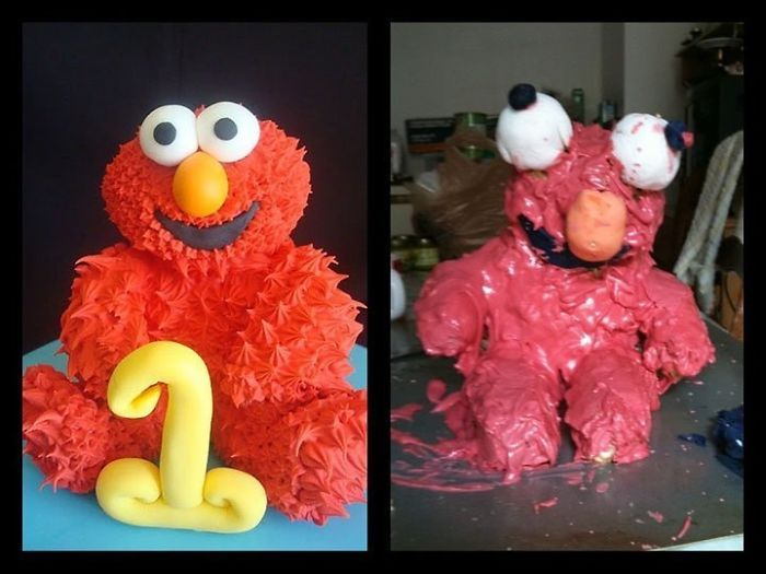 35 Expectativa vs Realidade na hora de fazer bolo 32