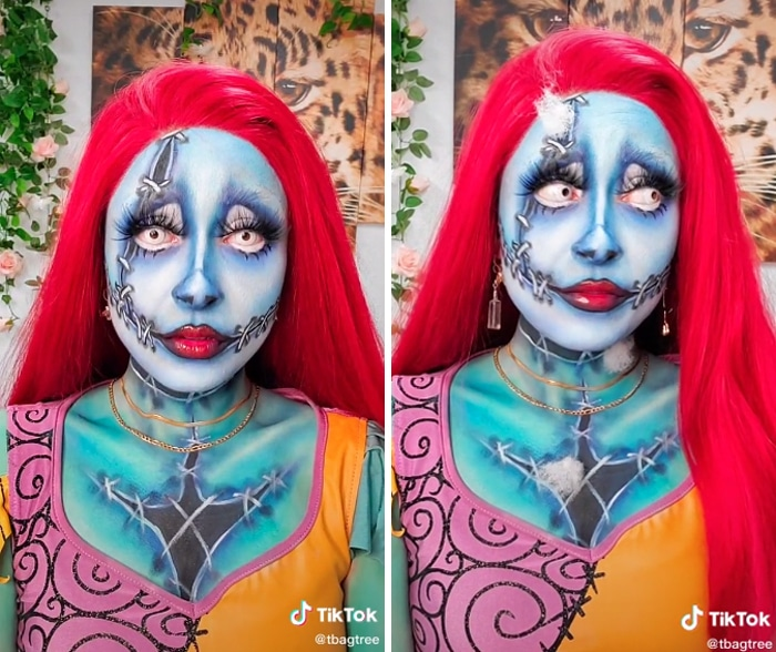 37 fantasias de Halloween incríveis que viralizou no Tiktok 4