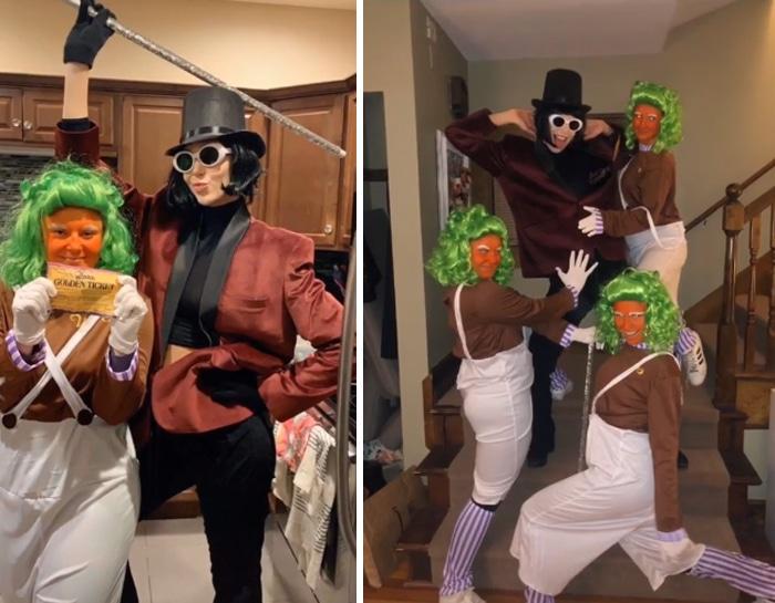 37 fantasias de Halloween incríveis que viralizou no Tiktok 16