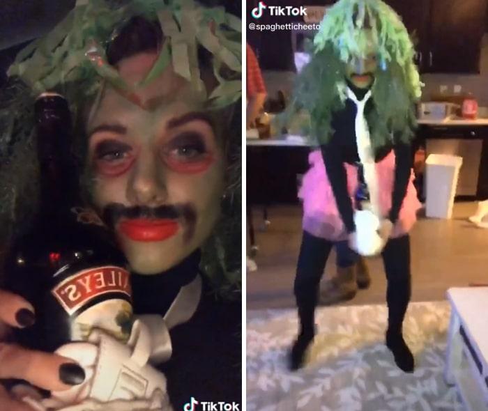 37 fantasias de Halloween incríveis que viralizou no Tiktok 34