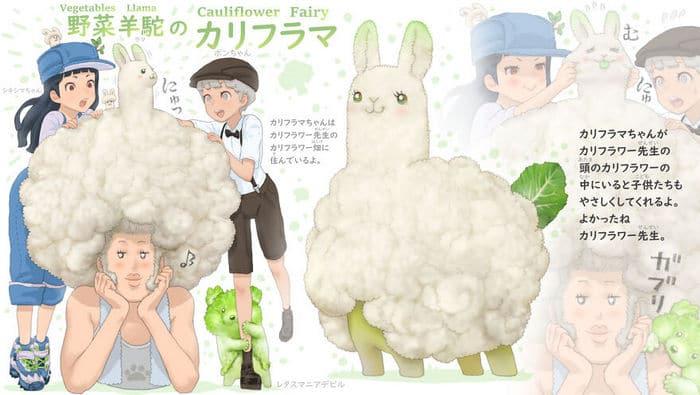 Ilustrador japonês combina animais e vegetais para fazer adoráveis criaturas de contos de fadas 6