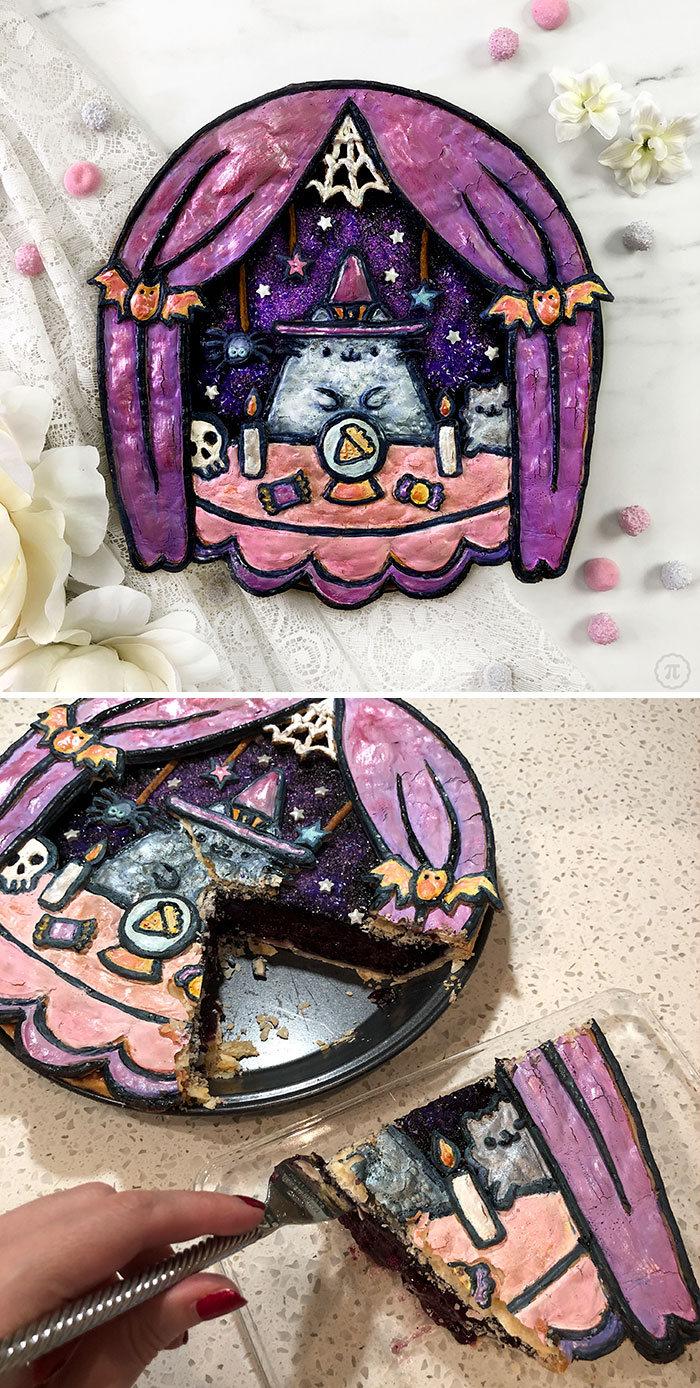31 incríveis tortas de Halloween Por Baker Jessica Clark-Bojin 2
