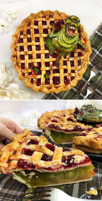 31 incríveis tortas de Halloween Por Baker Jessica Clark-Bojin 9