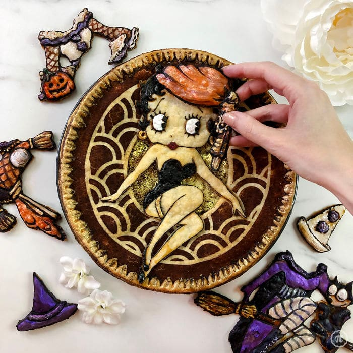 31 incríveis tortas de Halloween Por Baker Jessica Clark-Bojin 10
