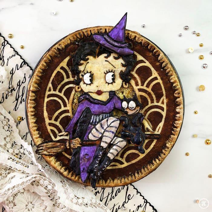 31 incríveis tortas de Halloween Por Baker Jessica Clark-Bojin 12