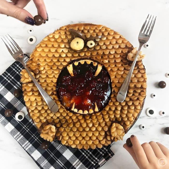 31 incríveis tortas de Halloween Por Baker Jessica Clark-Bojin 13
