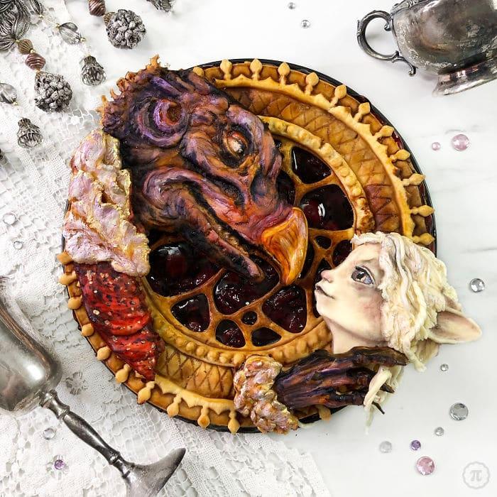 31 incríveis tortas de Halloween Por Baker Jessica Clark-Bojin 14