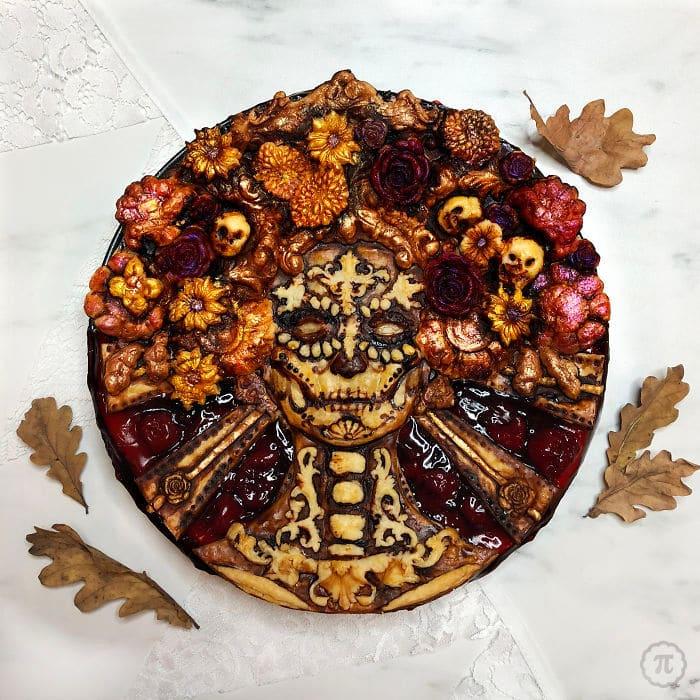 31 incríveis tortas de Halloween Por Baker Jessica Clark-Bojin 15
