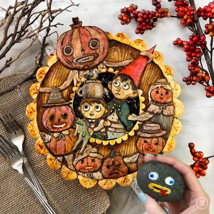 31 incríveis tortas de Halloween Por Baker Jessica Clark-Bojin 25