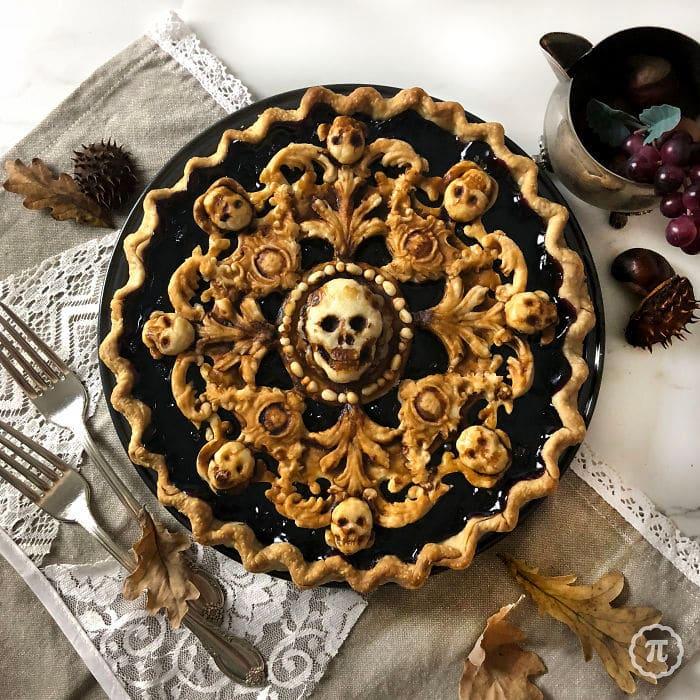 31 incríveis tortas de Halloween Por Baker Jessica Clark-Bojin 29