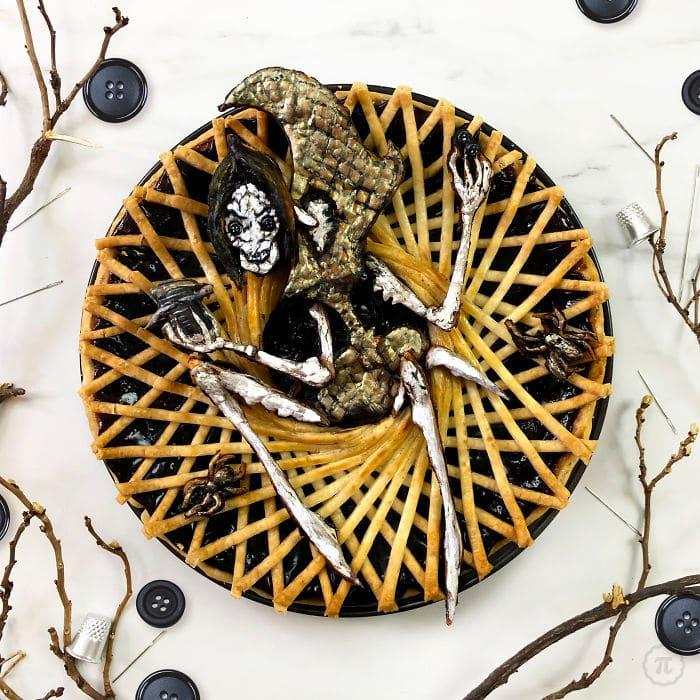 31 incríveis tortas de Halloween Por Baker Jessica Clark-Bojin 30