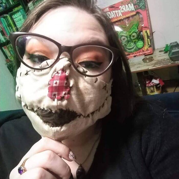 47 máscaras que também fazem ótimas fantasias de Halloween 23