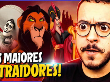 7 Personagens mais traidores da Disney! 7