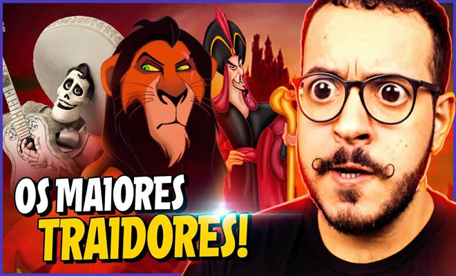7 Personagens mais traidores da Disney! 129
