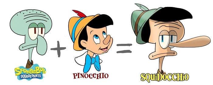 30 fusões de personagens de desenho animado pelo artista Dino Tomic 5