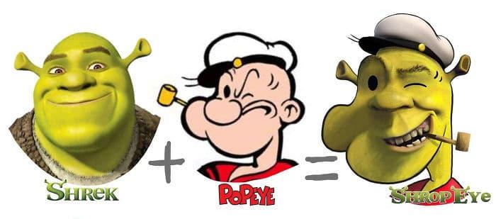 30 fusões de personagens de desenho animado pelo artista Dino Tomic 17