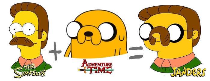 30 fusões de personagens de desenho animado pelo artista Dino Tomic 19