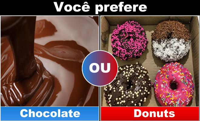 Qual você prefere: Comida 3