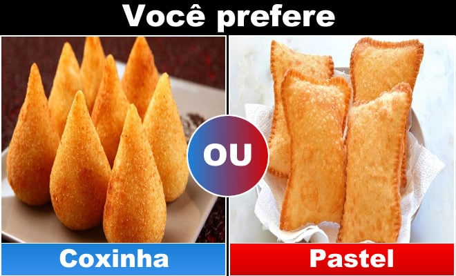 Qual você prefere: Comida 7