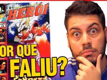 Por que a revista Herói acabou? 3