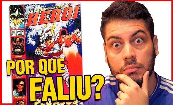Por que a revista Herói acabou? 47