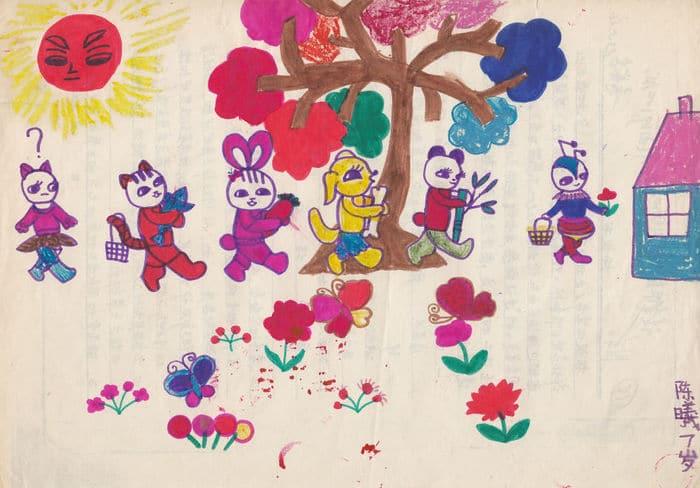Tentei desenhar meus desenhos de infância de novo 30 anos depois 6