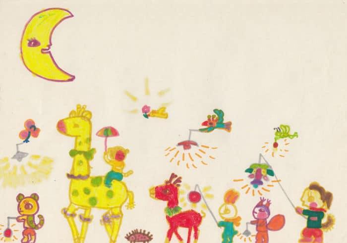 Tentei desenhar meus desenhos de infância de novo 30 anos depois 8