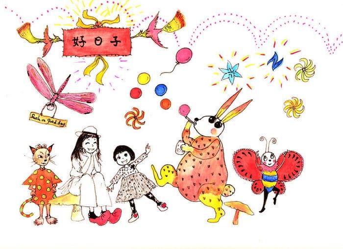 Tentei desenhar meus desenhos de infância de novo 30 anos depois 11