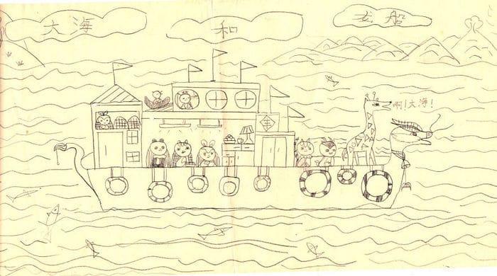 Tentei desenhar meus desenhos de infância de novo 30 anos depois 12