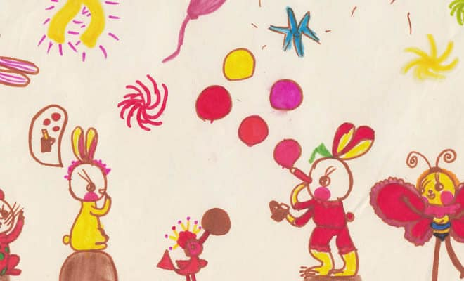 Tentei desenhar meus desenhos de infância de novo 30 anos depois 44