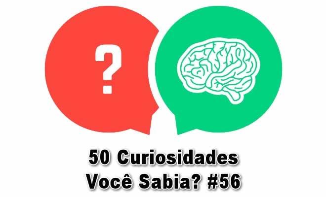 50 Curiosidades Você Sabia? #56 14