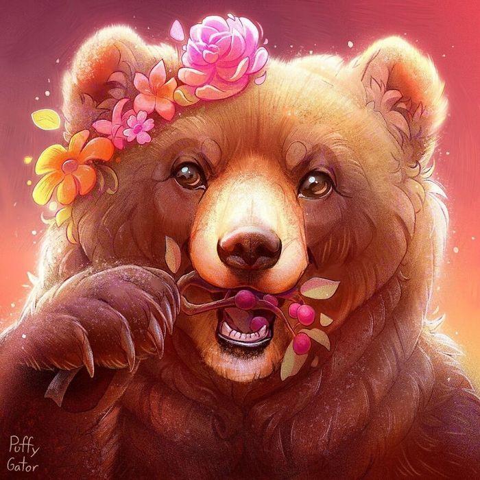 Artista cria ilustrações fofas de animais selvagens e animais de estimação 2