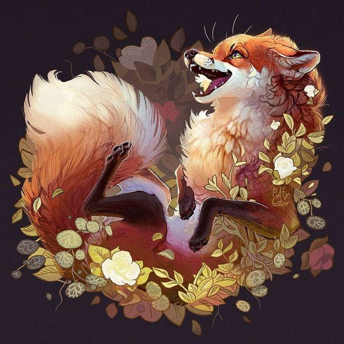 Artista cria ilustrações fofas de animais selvagens e animais de estimação 24