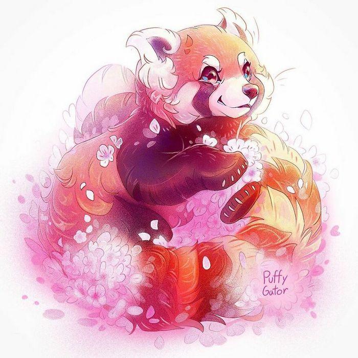Artista cria ilustrações fofas de animais selvagens e animais de estimação 28
