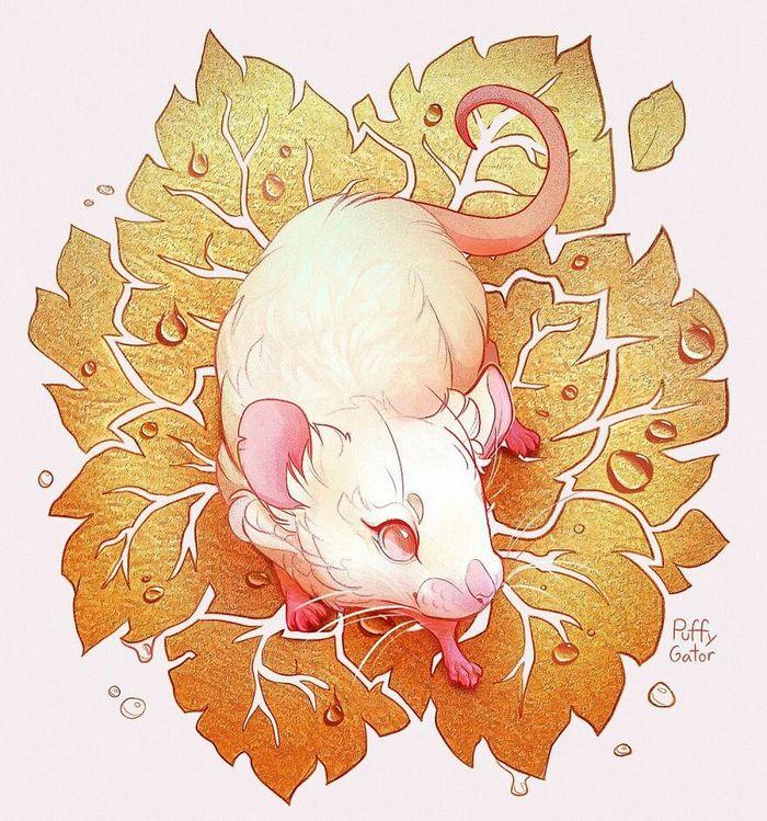 Artista cria ilustrações fofas de animais selvagens e animais de estimação 38