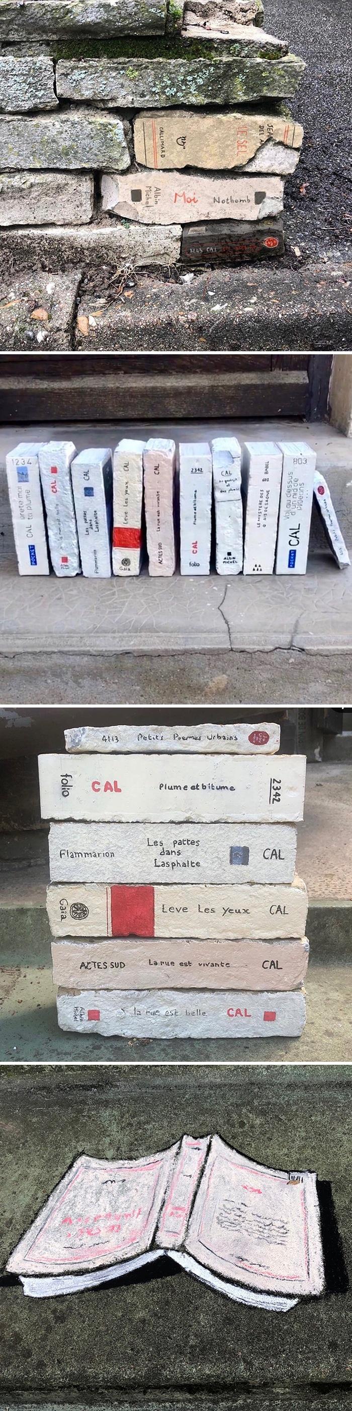 Artista francês espalha humor em espaços urbanos por meio de sua arte 6