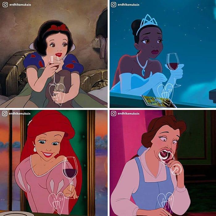 Artista reimagina personagens da Disney de uma maneira mais realista 5