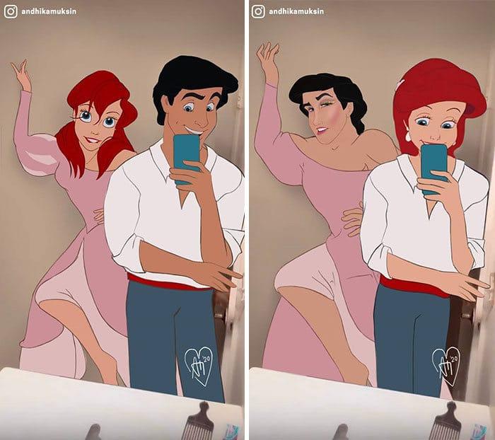 Artista reimagina personagens da Disney de uma maneira mais realista 17