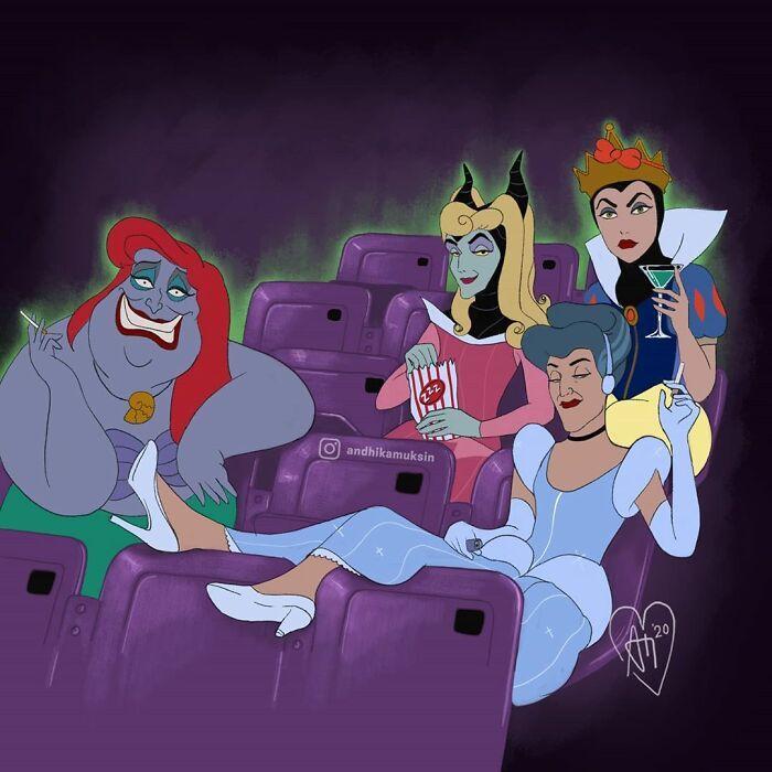 Artista reimagina personagens da Disney de uma maneira mais realista 19
