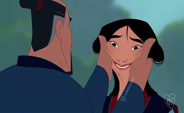 Artista reimagina personagens da Disney de uma maneira mais realista 21