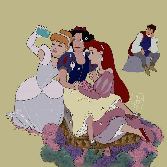 Artista reimagina personagens da Disney de uma maneira mais realista 26