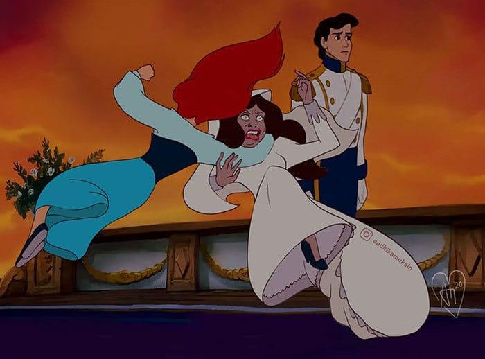 Artista reimagina personagens da Disney de uma maneira mais realista 30
