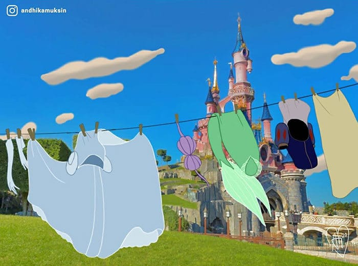Artista reimagina personagens da Disney de uma maneira mais realista 34