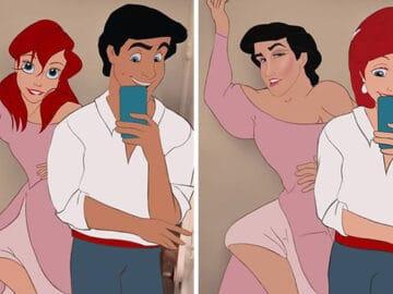 Artista reimagina personagens da Disney de uma maneira mais realista 27