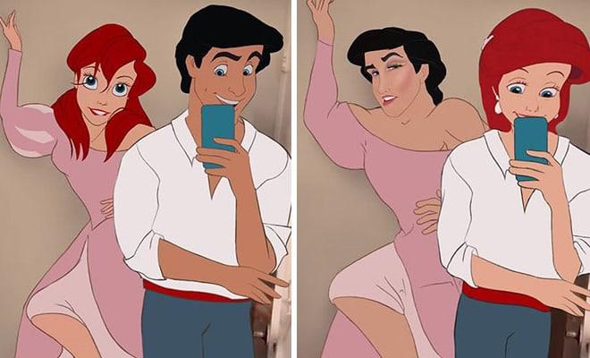 Artista reimagina personagens da Disney de uma maneira mais realista 2